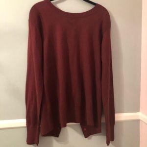 Lululemon cross back sweater